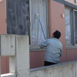 令和元年度 サポートセンターひまわり 春の窓拭き事業